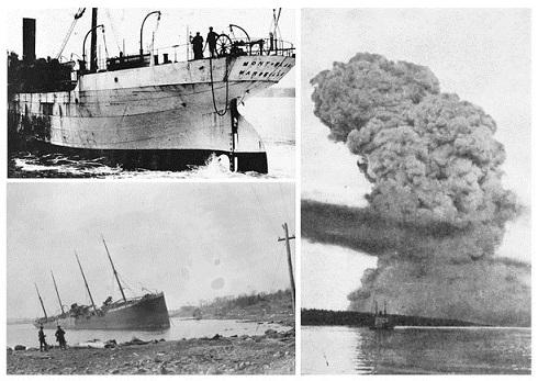 Vụ nổ tàu lớn nhất lịch sử, giết 2000 người, san phẳng cảng biển - 1
