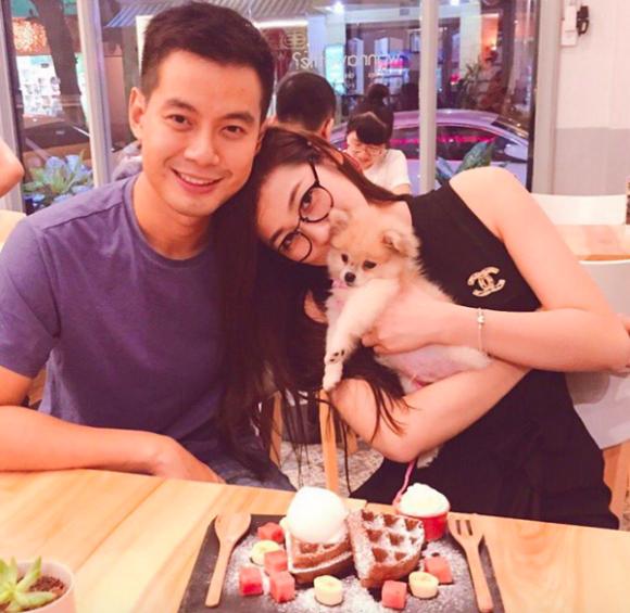 Á hậu Tú Anh hẹn hò doanh nhân tên Nam