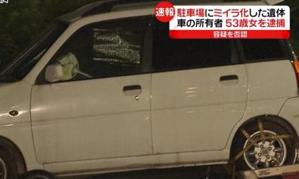 Người phụ nữ sống với xác chết trong xe hơi suốt nhiều tháng