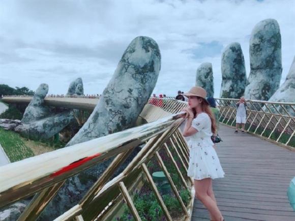 Dân tình bấn loạn trước cây cầu vàng hình bàn tay khổng lồ ở Đà Nẵng, rần rần rủ nhau đến check in - Ảnh 11.