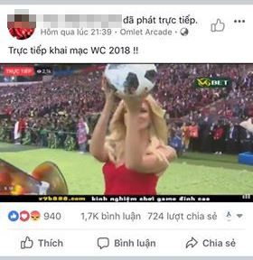"""VTV ra """"tối hậu thư"""" với các fanpage, trang web vi phạm bản quyền World Cup 2018 - 1"""