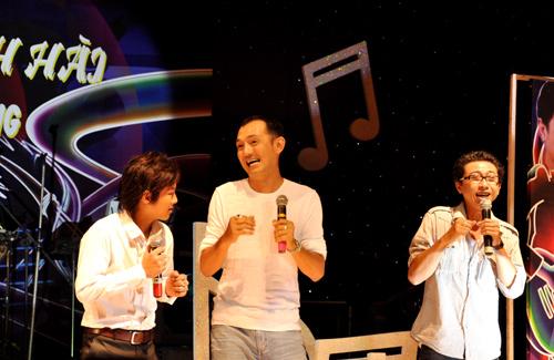 Nghệ sĩ Hữu Lộc trên sân khấu