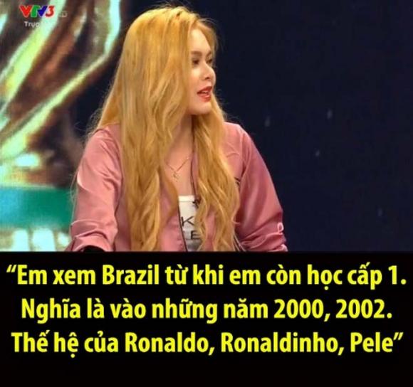 Hot girl Việt lên sóng World Cup