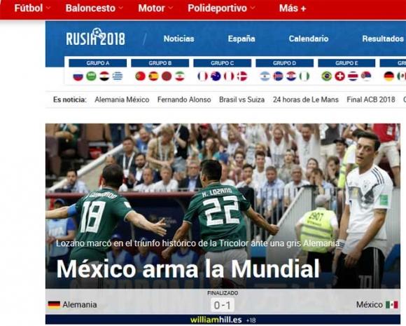 Chấn động World Cup, ĐKVĐ Đức gục ngã: Báo Đức lo loại sớm, báo Mexico mở hội - 2
