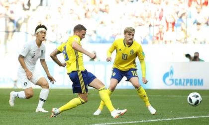 Thụy Điển - Hàn Quốc: Penalty định đoạt, cột dọc cứu 3 điểm (World Cup 2018)