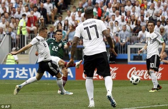 Đức - Mexico: Ra đòn choáng váng, chiến tích tuyệt đỉnh (World Cup 2018) - 1