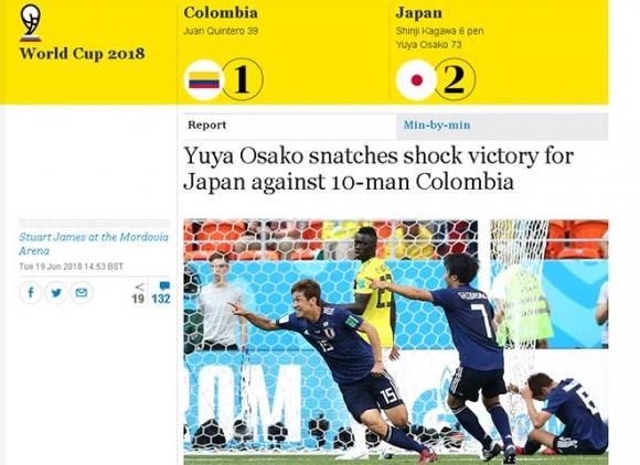 Nhật Bản gây địa chấn World Cup: Rạng danh châu Á, báo quốc tế tâng lên mây - 1