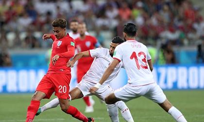 Anh - Tunisia: Trọng pháo bùng nổ, vỡ òa phút bù giờ (World Cup 2018)