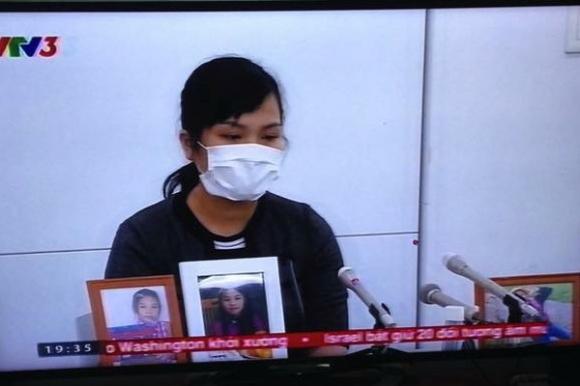 Mẹ bé Nhật Linh trong phiên tòa xét xử vào ngày 18/6.