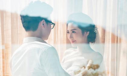 Ngất ngây trước bộ ảnh cưới đẹp như mơ của Á hậu Tú Anh và bạn trai ngành xây dựng