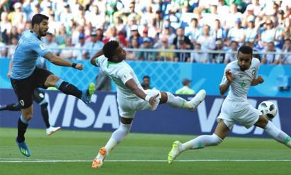 Uruguay - Saudi Arabia: Sai lầm chí tử, lật đổ siêu kỉ lục (World Cup 2018)