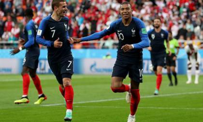 Pháp – Peru: 45 phút kinh hoàng & 'cú đấm' trời giáng (World Cup 2018)