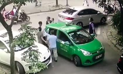 Khởi tố vụ thanh niên đi Mercedes cầm gạch đánh tài xế taxi chảy máu
