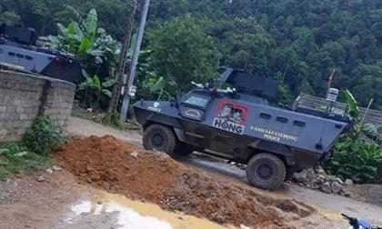 Hàng trăm cảnh sát cùng xe bọc thép tấn công 'thủ phủ ma túy'