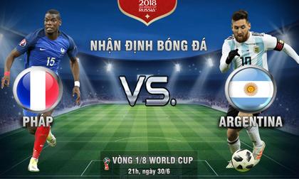 World Cup, Pháp - Argentina: Messi rũ bùn, xử đẹp 'Gà trống'?