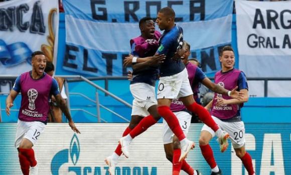Pháp - Argentina: Rượt đuổi nghẹt thở, 7 bàn siêu tưng bừng (World Cup 2018) - 1