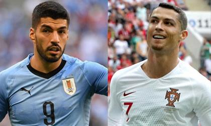 World Cup, Uruguay – Bồ Đào Nha: 'Đồ tể' Suarez chờ 'xử' Ronaldo