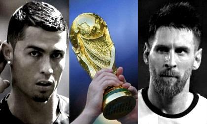 Messi – Ronaldo trắng tay 4 kỳ World Cup: Sao xứng vĩ đại nhất lịch sử?