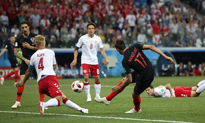 World Cup, Croatia - Đan Mạch: 4 phút điên rồ, 'đấu súng' cân não