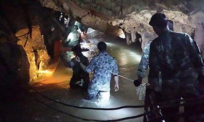 Thái Lan: Sắp tiếp cận nơi đội bóng mất tích trong hang động