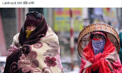 """""""Bốc hỏa"""" trong cái nóng hơn 40 độ C, dân mạng """"nằm mơ"""" mùa đông đang về"""