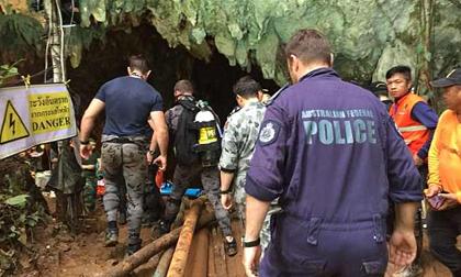 Lỗ thông bí ẩn có thể giúp đội bóng Thái Lan thoát khỏi hang sâu?