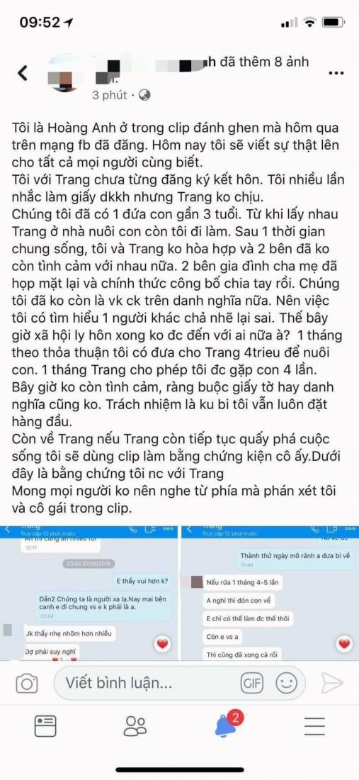 Vụ đánh ghen kinh hoàng ở Nghệ An: Người chồng lên tiếng nếu cô ấy còn quấy phá thì tôi sẽ kiện