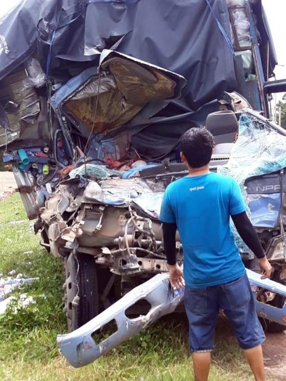 Hé lộ nguyên nhân vụ tai nạn 3 người chết ở Bình Dương - 1