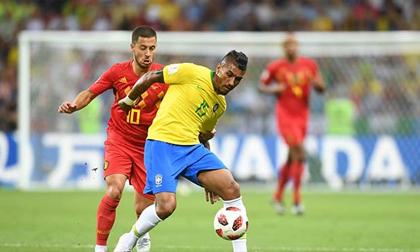 Brazil - Bỉ: Siêu sao chói sáng, dang dở giấc mơ vàng (World Cup 2018)