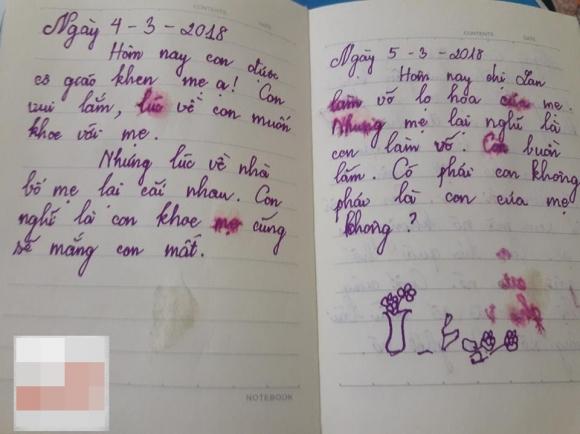 Con không phải là con mẹ, phải không? - cuốn nhật ký nhòe nước mắt của bé gái lớp 5 khiến các bậc cha mẹ sững sờ