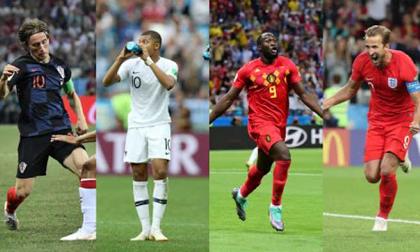 Tứ đại anh hào bán kết World Cup 2018: Đối thủ đáng gờm, kết cục khó đoán