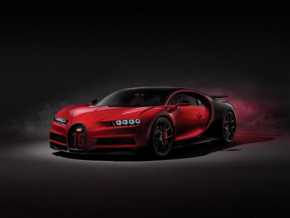 Siêu Bugatti Chiron mới giá 6 triệu USD