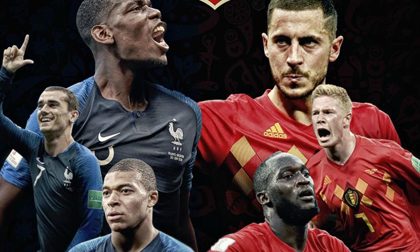Nhận định bán kết World Cup Pháp - Bỉ: 'Cuồng phong' Mbappe cuốn phăng 'lốc đỏ'?