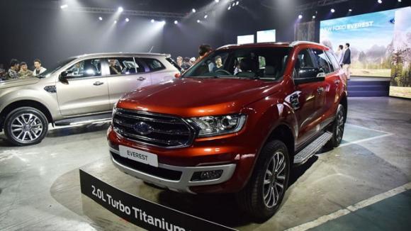 Ford Everest 2019 chính thức ra mắt, giá bán từ 910 triệu đồng - 1