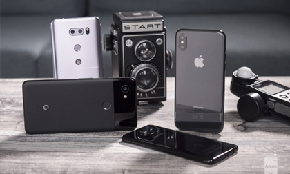 """Top smartphone có camera """"đỉnh"""" nhất thị trường"""