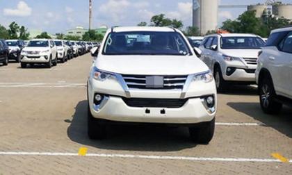 Xe Toyota Fortuner 2018 đã về Việt Nam, giá khoảng 1,45 tỷ đồng
