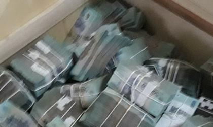 Cận cảnh 'kho tiền' khổng lồ thu được trong đường dây đánh bạc ngàn tỷ RIKVIP
