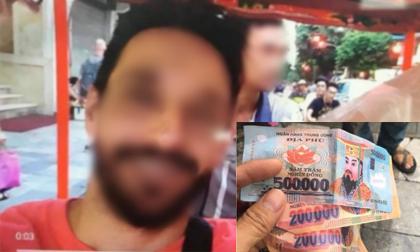 Vụ bị thối lại tiền âm phủ: Hai khách Tây khẳng định đưa cho xích lô 3 tờ 500.000 đồng và không lấy lại tiền thừa
