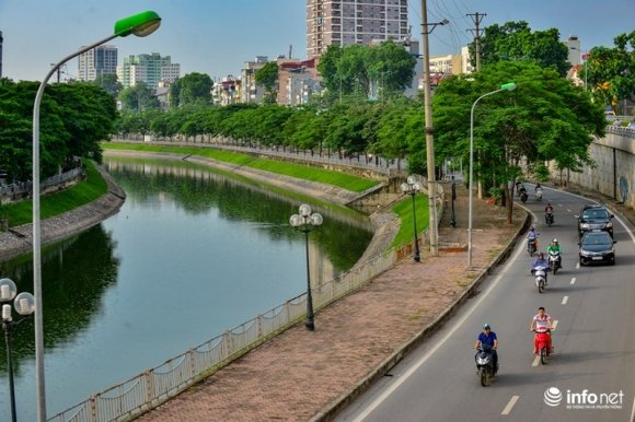 Bất ngờ hình ảnh sông Tô Lịch