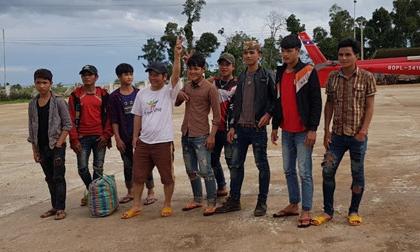 24 công nhân HAGL được trực thăng giải cứu sau vụ vỡ đập tại Lào
