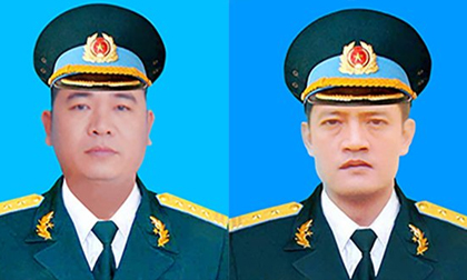 Truy thăng quân hàm cho 2 phi công tử vong trong vụ rơi máy bay Su-22