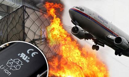 Máy bay MH370 bị bốc cháy vì một lô hàng trong khoang?