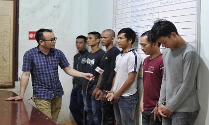 Bắt giữ nhóm thanh niên 'thu tiền bảo kê' thu mua trái sầu riêng