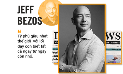 Tỉ phú giàu nhất thế giới Amazon sẵn sàng cho con