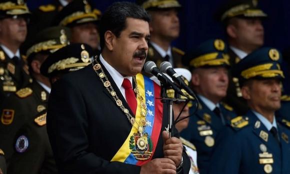 TT Venezuela thoat chet trong vu am sat bang chat no tai le duyet binh hinh anh 1