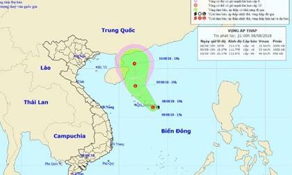 Tin mới thời tiết 9/8: Vùng áp thấp có thể mạnh thành áp thấp nhiệt đới