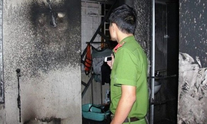 Nhà trọ bốc cháy dữ dội, cô gái trẻ thuê phòng tử vong thương tâm