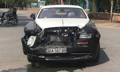 """Người điều khiển Rolls-Royce trên 20 tỷ """"biển khủng"""" bị tai nạn là ai?"""