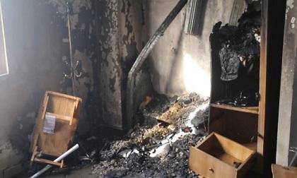 Cháy nhà do chập điện, thai phụ may mắn thoát nạn kịp thời