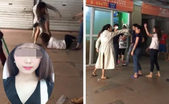 Dân mạng xôn xao về quả báo của Linh Thỏ: 2 tháng trước được chồng chở đi đánh vợ cũ giữa chợ, nay lại bị đánh sái quai hàm?